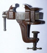 Vtg. Stanley SW Victor Bench Vise no. 761 w Horned Anvil - 1908 & 1915 Patents
