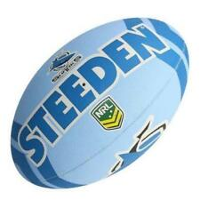 42505 CRONULLA SHARKS NRL LOGO FULL SIZE 5 LARGE FOOTBALL FOOT BALL FOOTY
