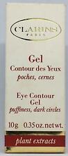 Clarins Paris Eye Contour Gel Plant Extracts Trial Size  0.35 Oz