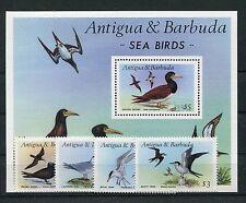 Antigua und Barbuda 1015/18 Block 124 postfrisch / Vögel .................1/1545