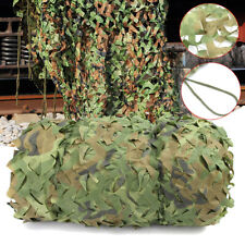 8X8m Woodland Camouflage Netting Military Army Camo Hunting Hide Camp Cover Net
