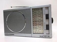VINTAGE GRUNDIG MUSIC BOY 160 PORTABLE RADIO TRANSISTOR MIT TRAGEGRIFF 1983