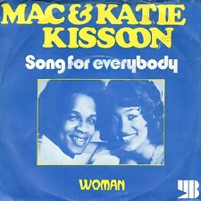7inch MAC & KATIE KISSOONsong for everybodyHOLLAND 1972 EX+  (S1076)