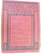 More details for theatre arts monthly dec 1935 jacques callot bennington w.b. yeats hermitage