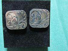 by Douglas Hall Vintage Silver H/M cufflinks