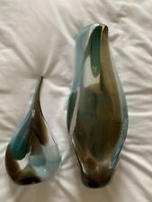 Set of two Mdina Malta vases – signed and labelledv