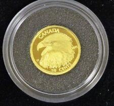Canada 2013 50-cent 1/25 oz. .9999 Fine Gold Coin - Bald Eagle