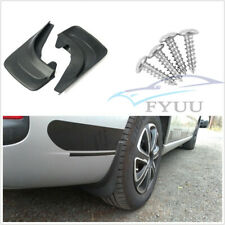 "4X Soft Plastic 12.6""x8.4"" Car Front Rear Fender Mud Flap Mudflaps Splash Guards"