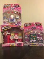 Shopkins Fashion Spree Makeup Spot  Best Dressed Cool Casual Collection Lot New