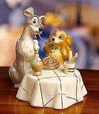 Lenox ~ LADY and the TRAMP Figurine ~ Disney ~ COA Spaghetti Dinner - New in BOX