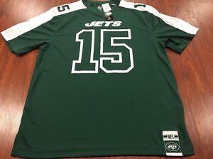 Authentic Majestic Brandon Marshall New York Jets Hashmark Jersey Large L NFL