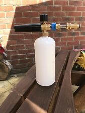 1l Snow Foam bottle and Adapter For Bosch Pressue Washer