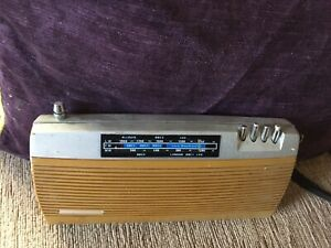 1960's PYE MISTRAL transistor radio designed by Kenneth Sadler Spares Or Repair