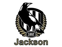Sticker - Personalised Stickers - AFL Collingwood Magpies - Any name, Amy, Ben..