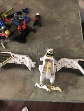 Power Rangers  Falcon Zord & Weapons lot MMPR  *FOR PARTS ONLY*