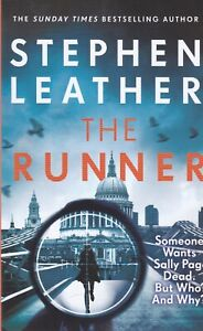 The Runner by Stephen Leather Paperback Book, New