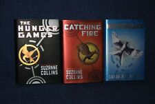 "Suzanne Collins, ""The Hunger Games"" - 3 book series / Hardback"