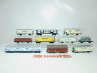 BM569-2# 10x H0/DC Güterwagen: Persil + aproz + Paulaner etc (Lima, Jouef etc)
