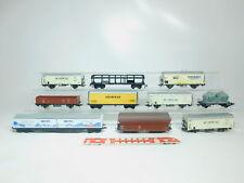 bm569-2 #10x H0 / DC Vagón de mercancía: Persil + Aproz + PAULANER etc. (