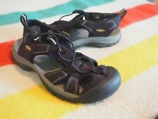 Keen Womens Shoe Venice Size US 8M EU 38.5 Black Slingback Hiking Sport Sandals