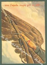 BERTHELET. SCUOLA ALLIEVI UFFICIALI DELL' AQUILA. Cartolina viaggiata nel 1942.
