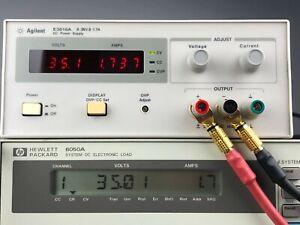 HP - Agilent - Keysight E3616A DC Power Supply, 0-35 V, 1.7 A, 60W