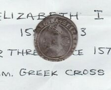 More details for creased 1558 to 1603 elizabeth i silver threepence in a used condition.