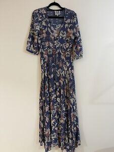 Jaase Women's Indiana Maxi Dress Estelle Print Sz M