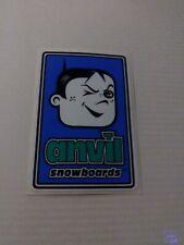 Vintage Anvil Snowboards Sticker