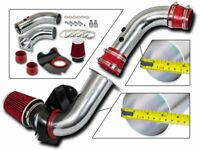 High Performance Parts Short Ram Dual Air Intake Kit /& Red Filter Combo Compatible for 05-10 Grand Cherokee 5.7 V8 06-10 Grand Cherokee 6.1L SRT8 V8 06-10 Commander 5.7 V8 Engine