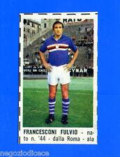 CORRIERE DEI PICCOLI 1966-67 - Figurina-Sticker - FRANCESCONI - SAMPDORIA -New