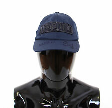 NWT $240 DOLCE & GABBANA D&G Blue Cotton Logo Baseball Cap Hat Cappuccio s.57/S