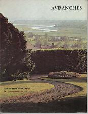 ART DE BASSE NORMANDIE N° 71 AVRANCHES MONT SAINT MICHEL 1977 MANCHE