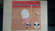 Disneyland Records LET'S HAVE A PARADE Favorite Marches for Children LP 1964