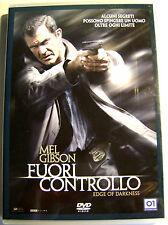 DVD FUORI CONTROLLO con Mel Gibson Usato