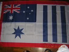 British Empire 1918 Wwi Australian Honour Flag Australia White Ensign 3X5ft