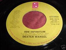 DEXTER WANSEL - ODE INFINITUM - RARE SOUL 45