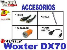 "PACK ACCESORIOS PARA TABLET Woxter DX70 7"" DX 70 HDMI USB OTG CARGADOR USB"