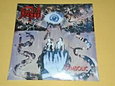 DEATH-Symbolic-2014 US 180gr WHITE Vinyl LP-Metal Blade Records