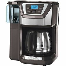 BLACK+DECKER Mill And Brew 12 Cup Programmable Coffee Maker With Grinder GRAY