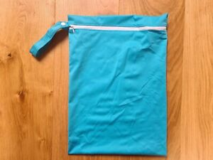 Large waterproof wetbag for reusable nappy or swimwear