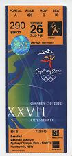 ORIG. biglietto Olimpiadi Sydney 2000-Baseball 1/2 Final 'S RARO!!!