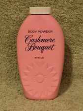 Vtg 1970's Cashmere Bouquet Body Powder 4 oz Pink Container Colgate-Palmolive