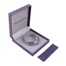 Bracciale in Argento Placcato Braccialetto Angelo Custode regalo gioielleria di moda equilibirum