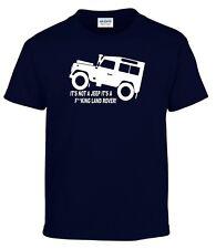 it's not a JEEP it's A F REY Land Rover Divertido 4x4 Inspirado hombre camiseta