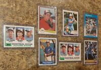 (7) Terry Francona 1982 Topps Fleer Donruss OPC Rookie Card Lot RC 1983 1984 Sox