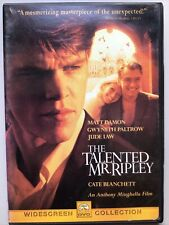 The Talented Mr. Ripley (Dvd, 2000)