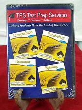 TPS TEST PREP SERVICES COMPOSITION VOCABULARY GRAMMAR SPELLING DISC VISTA