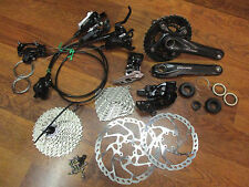 SHIMANO SLX ST-M670 2x10 SPEED BL/BR-M615 HYDRAULIC 160/180 DISC GROUP BUILD KIT