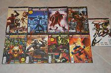 Lot 9 albums MARVEL HEROES 15 à 23 série Secret Invasion - Marvel Panini Comics